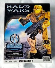 Mega Bloks Halo Wars UNSC Spartan-LL jaune collector's Series 29674-Entièrement NEUF dans sa boîte