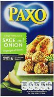 Paxo Sage and Onion Stuffing - 3 ounce Pack of 8