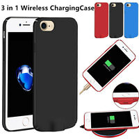 QI Wireless Charger Power Pad Receiver Case for iPhone 6 7 Direct Charging Cover