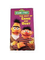 My Sesame Street Home Video The Best of Ernie and Bert VHS 1988 Tape 1996 Case