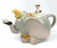 Vintage Walt Disney Dumbo & Timothy The Mouse Ceramic Teapot