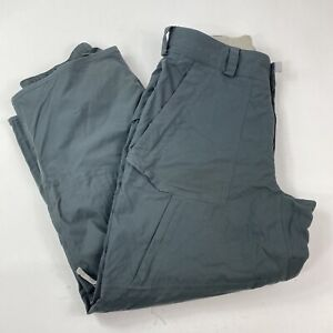 Burton Tactic Gray Winter Snowboard Ski Pants Size Large