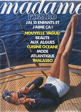 madame FIGARO 05/07/1991 michel bouquet julio bocca