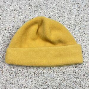Polartec Unisex Adults Hat One Size Yellow Fleece Cuffed Warm Winter Beanie