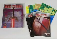 Red Steel Advanced DUNGEONS AND DRAGONS 2ND EDITION 2504 VG No Disk