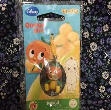 Limited Orange Bird Kewpie Wrist Strap for Cellphone Disney Figure Figurine