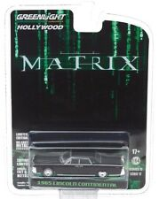 """2017 GreenLight HOLLYWOOD """"THE MATRIX"""" 1965 LINCOLN CONTINENTAL - mint on card!"""