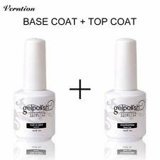 Top and Base Coat Gel UV Nail Polish Long Lasting Nail Primer Gel Uv Lamp