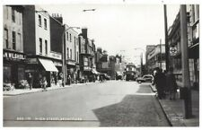 BRENTFORD High Street, RP Postcard by Frith, Unused
