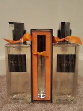 Victoria's Secret Lot-AMBER MANDARIN Hand & Body Cleansing Gel + Perfume Spray
