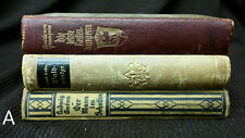 LOT 3 Vintage 1920 1930 German Book Louise von Francois Paul Keller Ludwig Anton