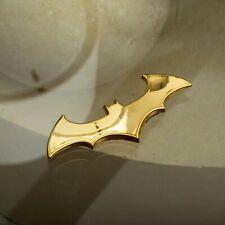 Batman Gold Chrome Car Emblem Badge Amp Decal Sticker Eliteauto3k