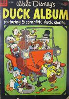 Walt Disney Duck Album Dell Comic #560 Golden Age 1954
