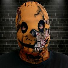 Grunge Smiley Design 3D Effect Lycra Fabric Face Mask Halloween Scary FS229