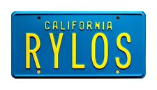 The Last Starfighter | Centauri's Starcar | RYLOS | STAMPED Prop License Plate
