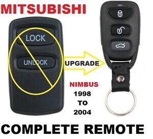 Mitsubishi  NIMBUS Remote Fob Keyless Entry  1998 1999 2000 2001 2002 2003 2004