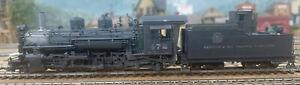 HOn3 Brass K28 Locomotive