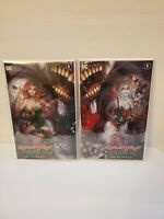 Harley Quinn and Poison Ivy Comic First Issue #1 Tyler Kirkham Variant Set of 2