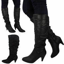 Synthetic No Pattern Zip Mid-Calf Women's Boots