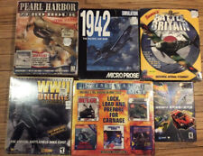 Lot of 6 Vintage PC Games In Original Boxes