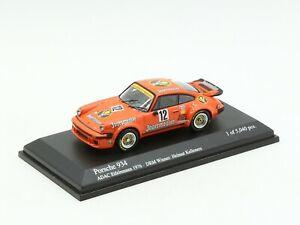 Porsche 934 Jagermeister DRM 1976 Minichamps 1/64