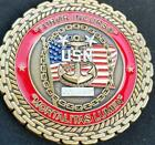 US Navy Master Chief Sessions Retirement Challenge Coin
