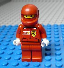 LEGO Minifig Ferrari F1 Pit Crew Member - Shell Torso Sticker   x1PC