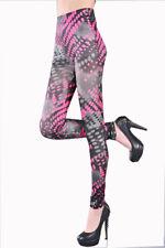 Sexy Women Skinny Leggings Slim Wet Look  PU Jeans Jeggings Stretchy Pants UK