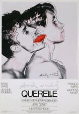 ANDY WARHOL - Querelle (White) Original 1982 Poster Art Print - Extremely Rare
