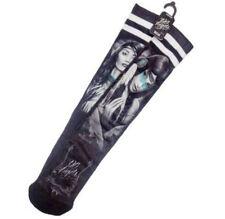 DGA Day of the Dead Native American Princess Rockabilly Art Ladies Tube Socks
