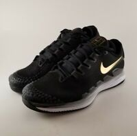 Nike Air Zoom Vapor X Knit Mens Tennis Shoes Black White AR0496-003 Size 8
