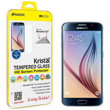 AMZER Tempered Glass HD Screen Guard Protector For Samsung Galaxy S6 SM-G920F