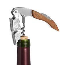 3 in 1 Professional Waiters Corkscrew Wood Handle Bottle Opener Foil Cutter Gift
