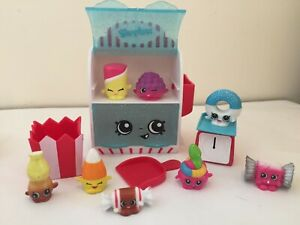 Shopkins CANDY Collection Playset-Food Fair 100% Complete w/ 8 Exclusives
