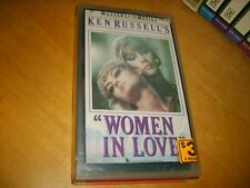 VHS *WOMEN IN LOVE* 1969 Pre Cert - Ken Russell's Classic - Adult Drama Romance!
