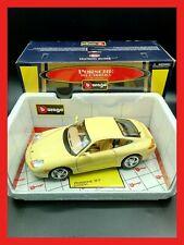 1:18 1/18 burago PORSCHE 911 996 CARRERA colore giallo # 30085