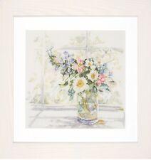 Bouquet de Fleurs: Lanarte Counted Cross Stitch Kit-PN0168743