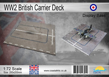 Coastal Kits 1:72 Scale WW2 British Carrier Deck Display Base 200x200mm