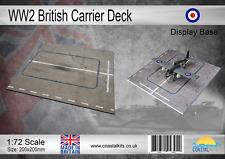 1:72 Scale WW2 British Carrier Deck Display Base 200x200mm