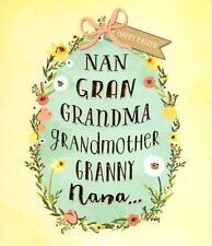 Grandmother Happy Easter Greeting Card Nan Gran Greetings Cards