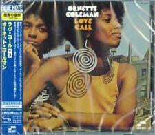 ORNETTE COLEMAN-LOVE CALL+3-JAPAN SHM-CD Ltd/Ed C94
