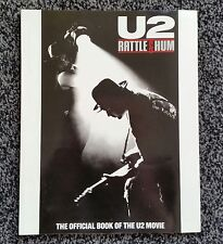 U2 rattle and hum book of the movie