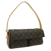 LOUIS VUITTON VIVA CITE MM HAND BAG PURSE MONOGRAM CANVAS M51164 AR1003 38160