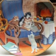 VINTAGE TURI MACCOMBIE Franklin Mint collector Plate A TIME TO PLAY