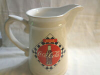 Vintage 1995 Coca Cola Pitcher