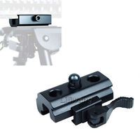 Quick Release Bipod Rilfe Sling Adapter Weaver Picatinny Rail Fits Harris bipods
