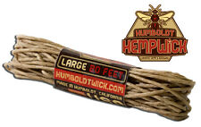 Humboldt Hemp Wick® 20 Feet -1 mm - Bee Line Hemp Hempwick Lighter