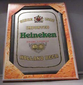 Mirror Heineken beer pub/bar, mancave, home decoration