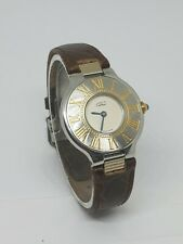 Must de Cartier 21 Damenuhr 28mm Stahl/Gold 125000P