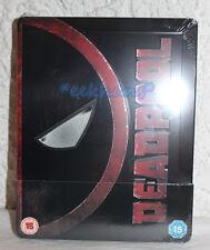 NEW Marvel's Deadpool Blu-Ray Steelbook U.K. Zavvi Exclusive